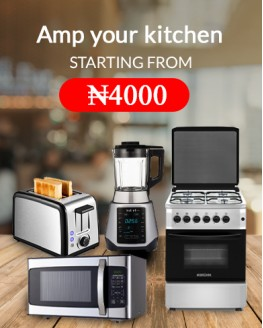 Amp your kitchen