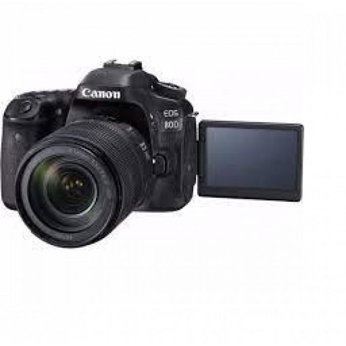 Canon EOS 80D DSLR Camera with 18-135 Lens
