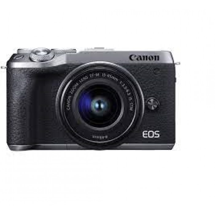 Canon EOS M6 Mark II Mirrorless Camera with 15-45 IS STM Kit