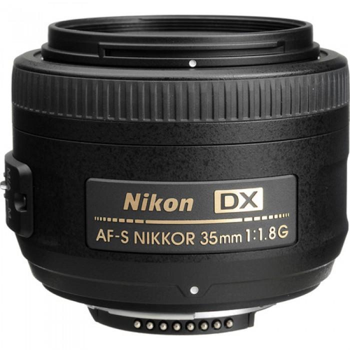 Nikon 35mm 1.8G AFS - DX Camera Lens