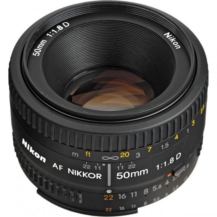 Nikon 50mm f/1.8D Camera Lens