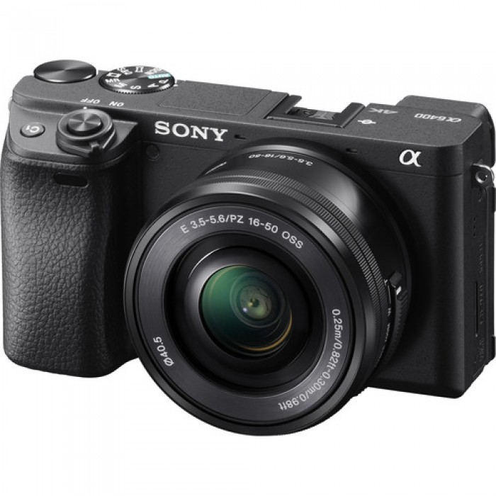 Sony Alpha A6400 with 16-50mm Lens