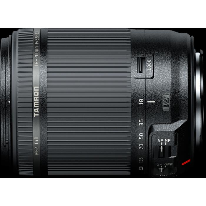Tamron 18-200mm f/3.5-6.3 Nikon Lens