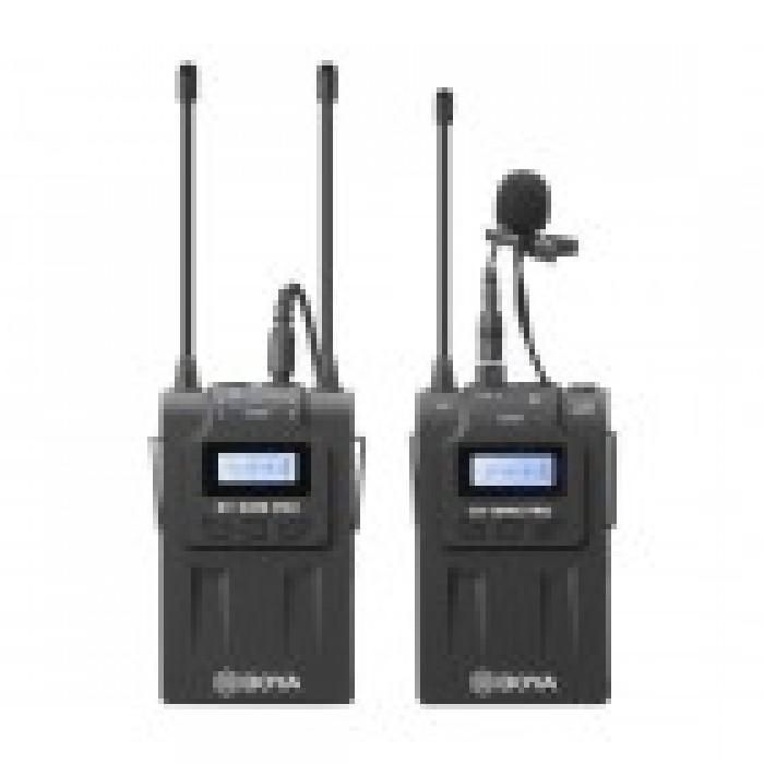 BOYA BY-WM8 Pro-K1 UHF Dual-Channel Wireless Microphone