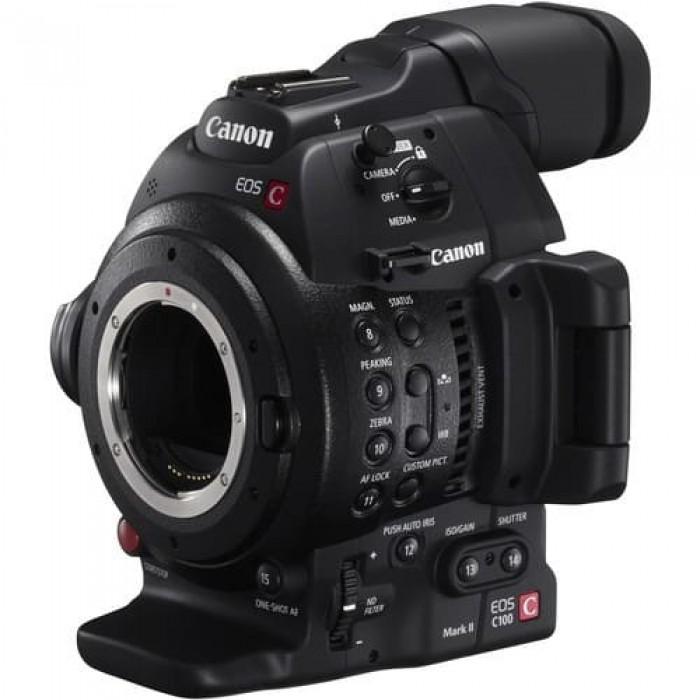 Canon EOS C100 Mk II Cinema Camera (Body Only)