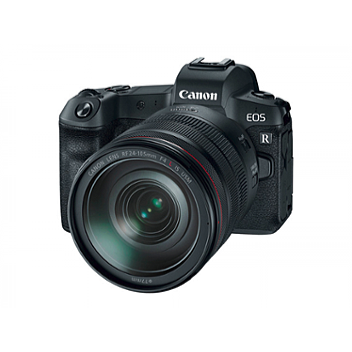 Canon EOS-R Mirrowless Camera with 24-105mm F4 USM Lens +Adapter
