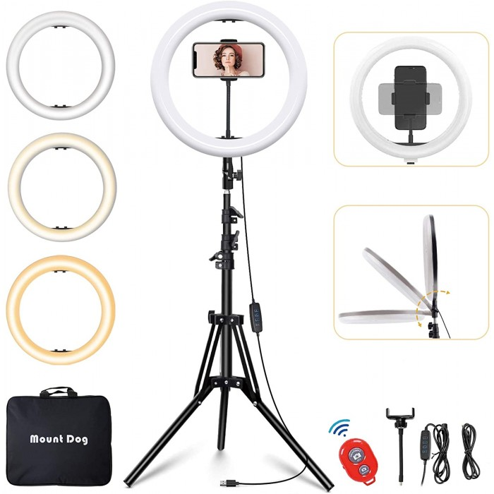 Ring Light 14 inches With Phone Clip and Stand