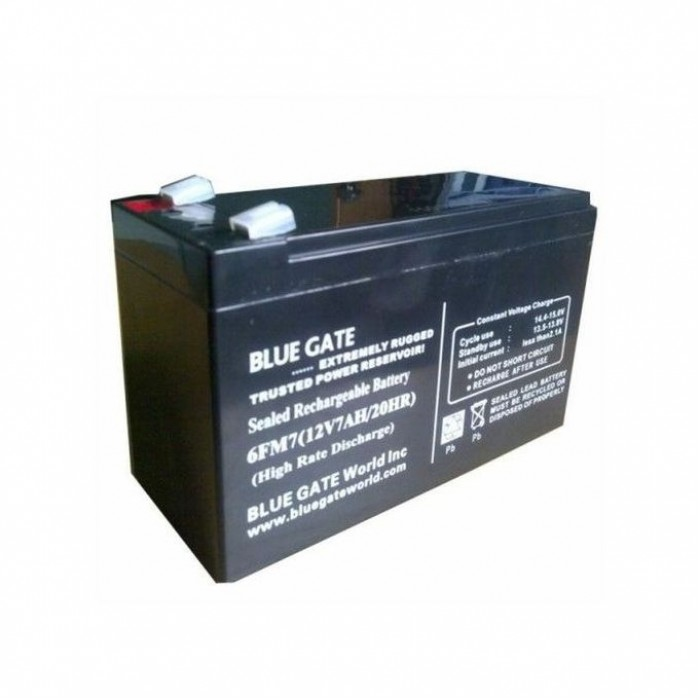 Blue Gate 12V/7AH UPS Replacement Battery