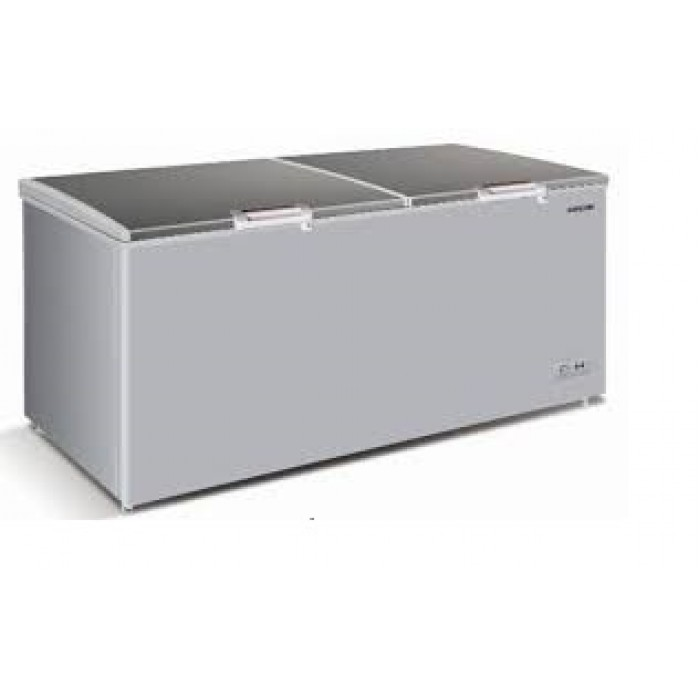 Haier Thermocool 519Ltr Chest Freezer Large HTF-519IS R6 Silver  100108100