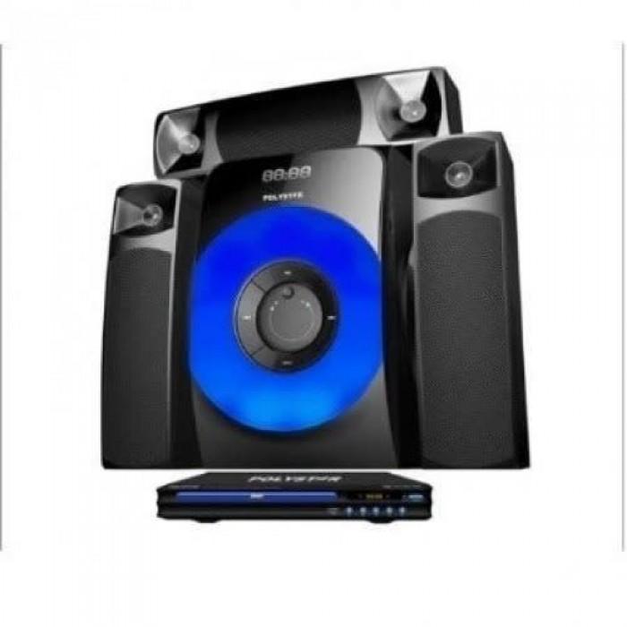 Polystar Home Theatre HDMI, FM Radio, Bluetooth with DVD Player (PV-3338-3.1)