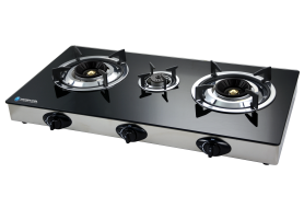 Haier Thermocool 3 Hob Glass Table Top Gas Cooker TGC-3GA | 100107862