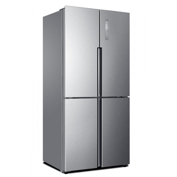 Haier Thermocool 456L Double Door Refrigerator | Top Mount FF 456 DM R600 SLV SKD