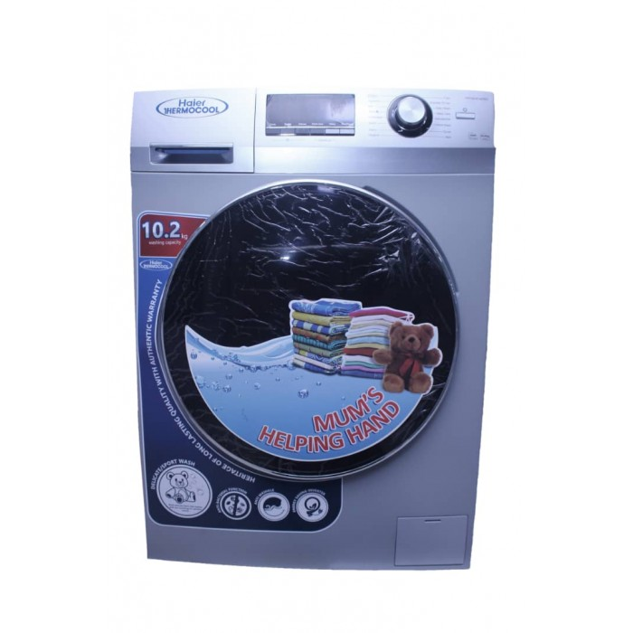 Haier Thermocool 10.2kg Front Load Automatic Washing Machine HW100-B14636S | 100103973