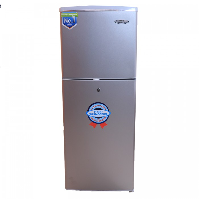 Haier Thermocool 160L Double Door Top Mount Refrigerator 160EX R6 | Silver 100101176