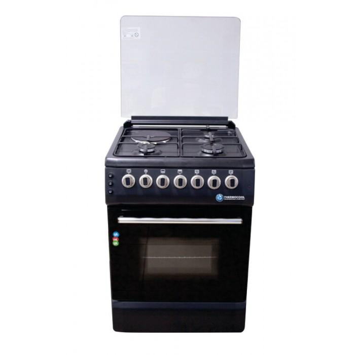 Haier Thermocool (3G+1E) Burner Gas Cooker My Diva 603G1E OG-6831 Black | 100107263