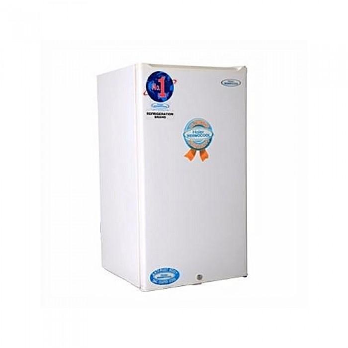 Haier Thermocool 142L Single Door Refrigerator Dcool HR-134BW R6 White | 100106154
