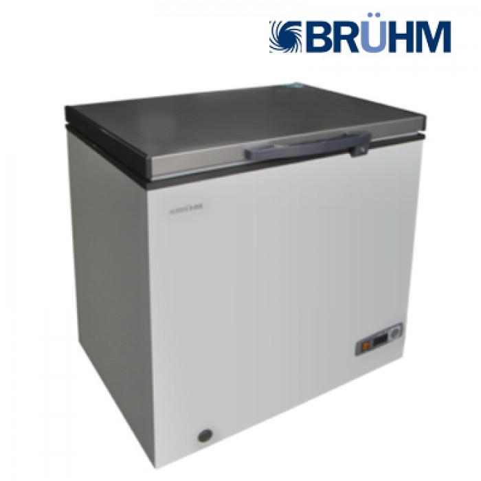 BRUHM CF BCS-200MG Silver Deep Freezer