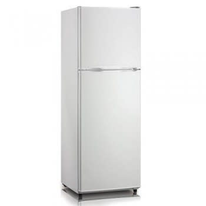 Midea 280 Liters Double Door Frost Free HD-366FWEN Stainless Steel Refrigerator