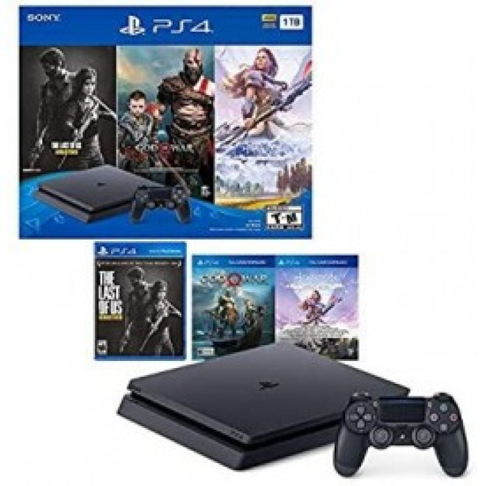 PlayStation 4 1TB With 3 Games