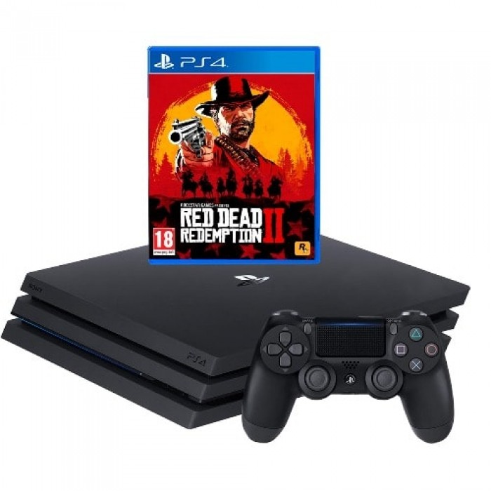 PlayStation 4 PRO 1TB Red Redemption