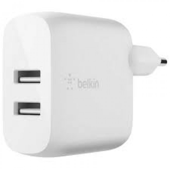 Dual USB-A-Wall Charger 24W