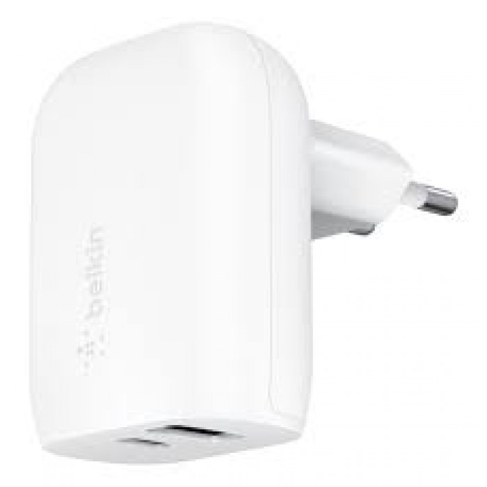 30W USB-C TO USB-A Wall Charger
