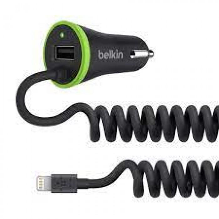 Belkin 17W Car Charger + USB Port Lightning