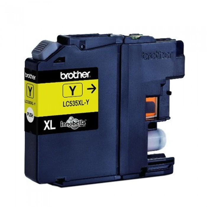 Brother LC535XLY Yellow Ink Cartridge