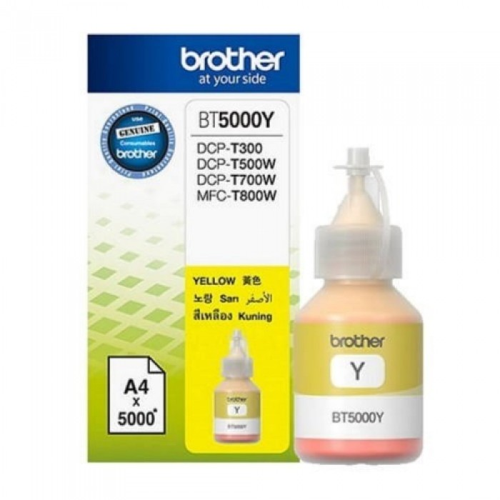 Brother BT5000Y Ink Bottle (Yellow)