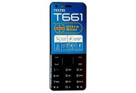 TECNO T661 Ultra Slim FM Wireless, 16MB ROM + 8MB RAM
