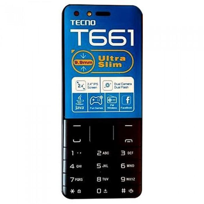 TECNO T661 FM Wireless Dual SIM   16MB ROM + 8MB RAM