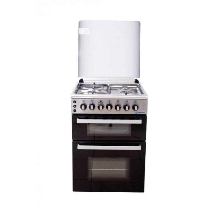 Haier Thermocool (3G+1E) Burner Gas Cooker My Diva 603G1E OGDC-6831 Inox | 100107325