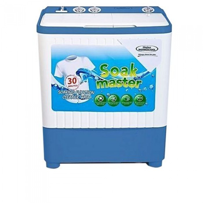 Haier Thermocool 6kg Top Load Semi Automatic Washing Machine Blue | 100006741