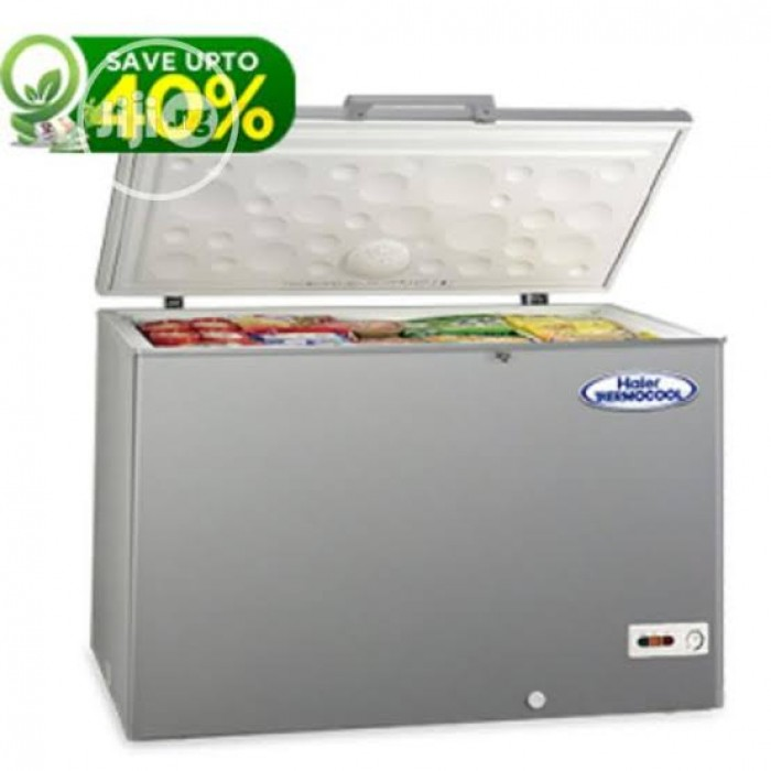 Haier Thermocool 379 Liters Chest Freezer (LRG HTF-379IS R6 SLV)