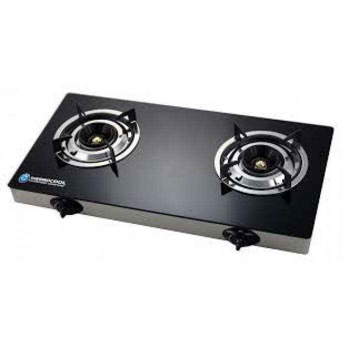 Haier Thermocool 2Hob Table Gas Cooker TGC-2GA Glass Duo 100107861