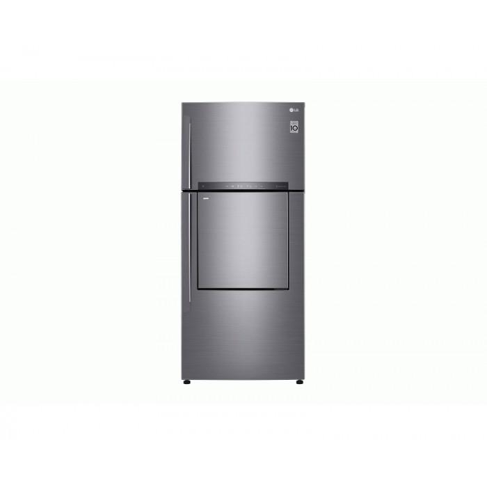 LG 549L Top Freezer Refrigerator With Mini Bar Door In Door Silver   REF 702 HLHU