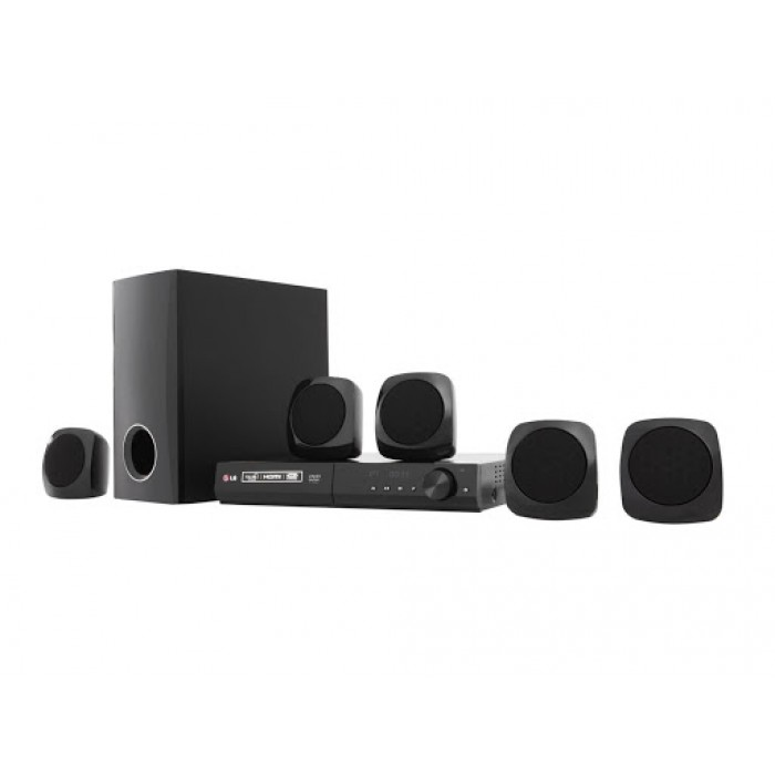 LG 5.1Ch 300W DVD Home Theatre System | AUD 358SD