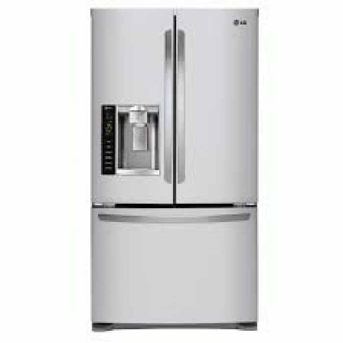 LG 755L Bottom Freezer Drawer Side By Side Refrigerator Silver   REF 258VSXV