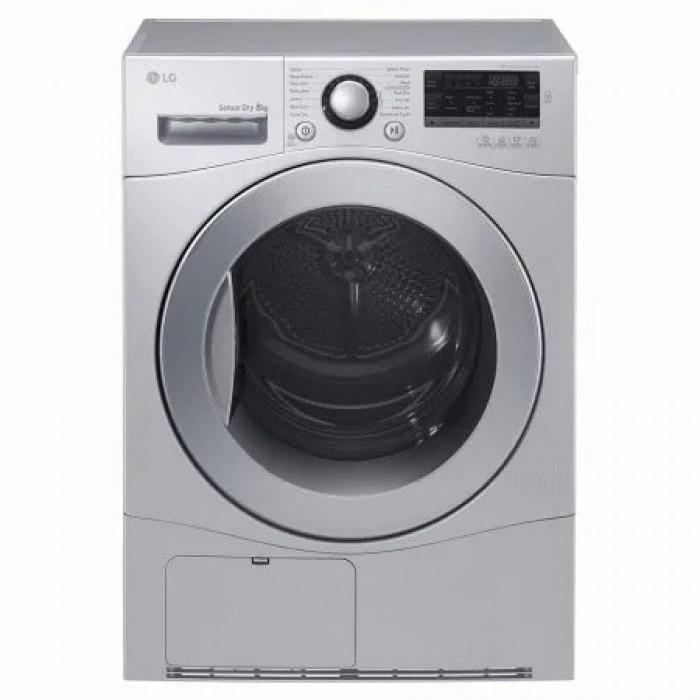LG 8kg Front Load Dryer Silver   Dryer 8066