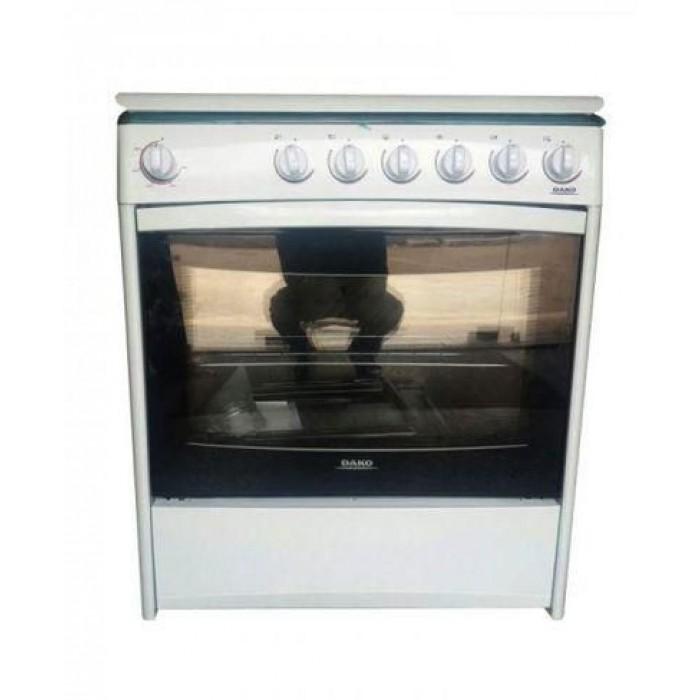 Dako 6 Gas Burner Omega Cooker   6B