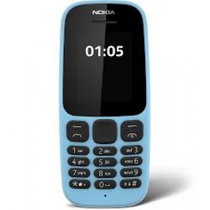 Nokia 105 Dual Sim Feature Phone | FM Radio | Torchlight