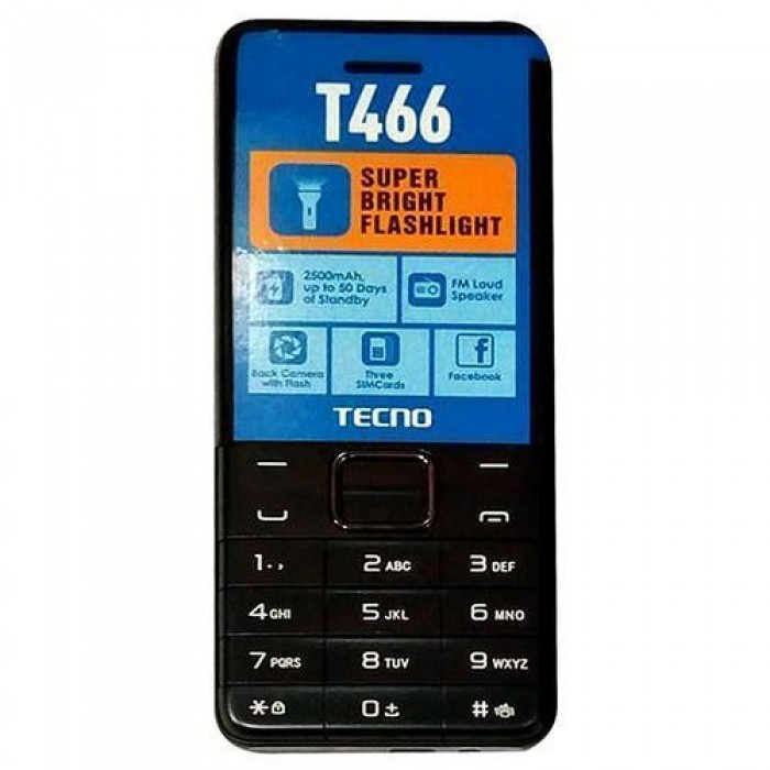 TECNO T466 Feature Phone