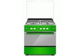 Maxi (3G+1E) 60x60 Standing Gas Cooker 6060 M4 Green