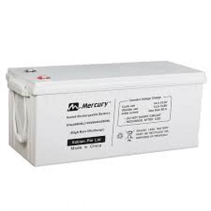 Mercury GEL Battery | 12V,200AH | MER 200