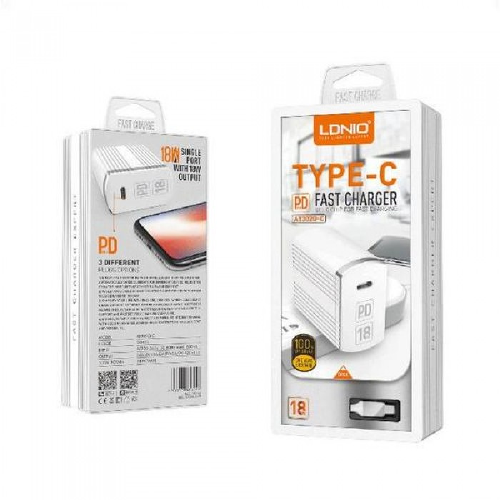 LDNIO 1 Port iPhone Fast Charger
