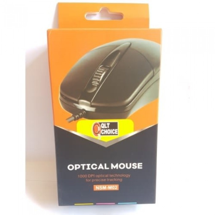 Qlt M02 Mouse Wired