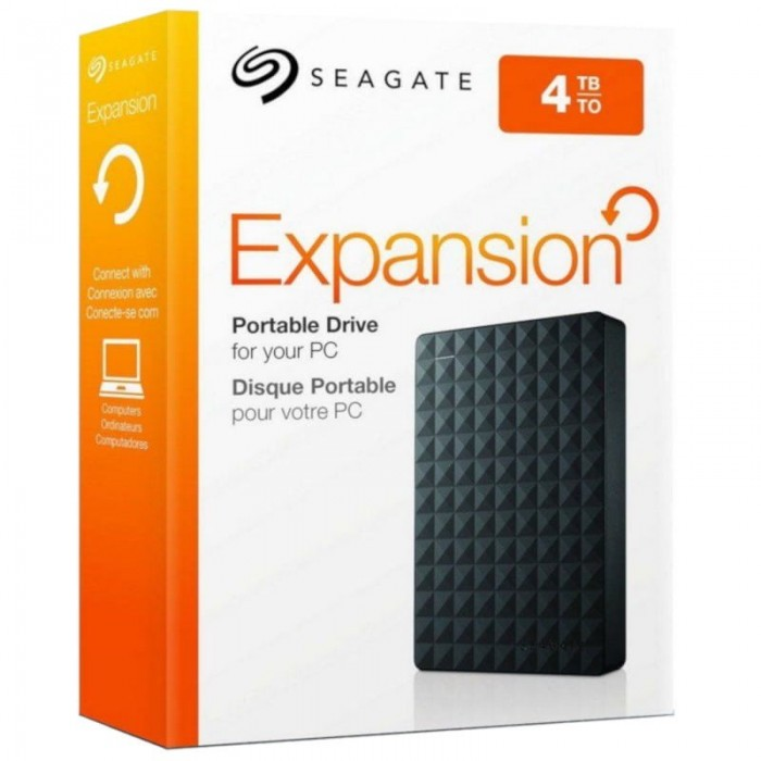 Seagate Expansion 4TB External Hard Disk
