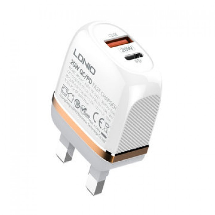 LDNIO 20W PD Fast iPhone Charger