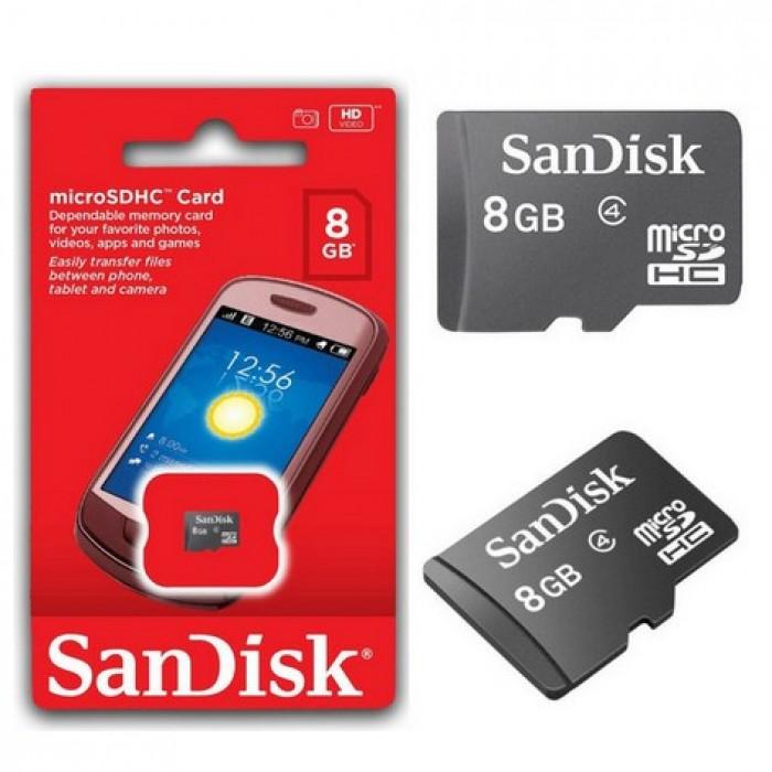 SanDisk Micro SD 8GB (n/a)
