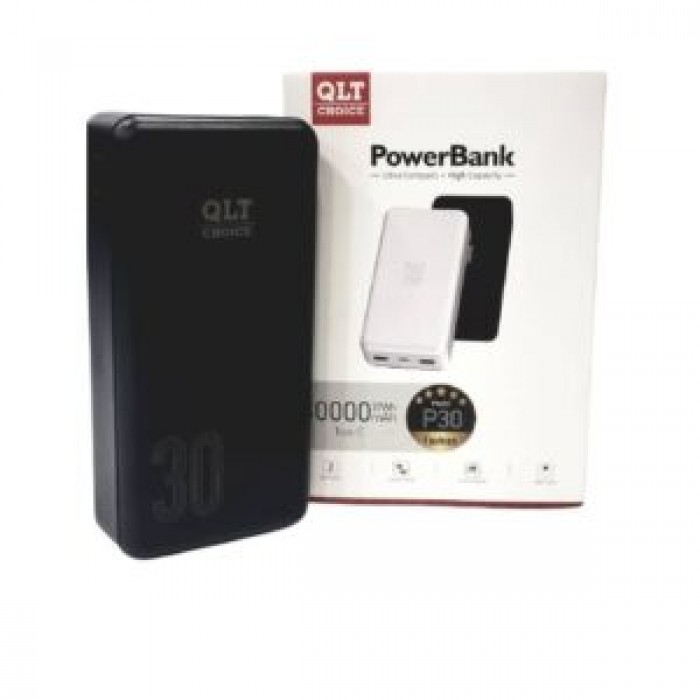 QLT Choice 30000mAh Digital Power Bank